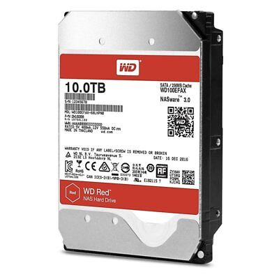 """View Details WD Red 10TB - Internal NAS HDD - 3.5"""" - WD100EFAX • 360.22£"""