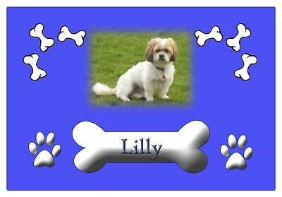 Personalised Rubber Backed Pet Feeding Mat • 10£