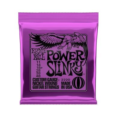 $ CDN6.99 • Buy Ernie Ball Power Slinky Nickel Wound Set 2220 (11-48)