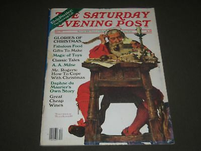 $ CDN63.57 • Buy 1977 December Saturday Evening Post Magazine - Norman Rockwell Cover - K 1528