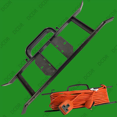 1x H-FRAME Cable Carrier, Extension Wire Reel, Power Lead Holder Rope Winder • 1.99£
