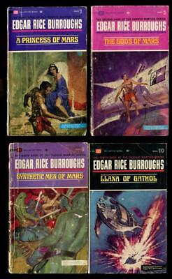 EDGAR RICE BURROUGHS John Carter Of Mars #1, 2, 9, 10 • 12.50$