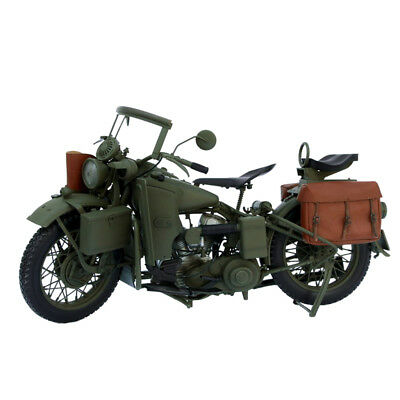 1/6 Scale WWII Army Motorcycle Vehicle For 12'' Captain America Figure Accessory • 138.85£