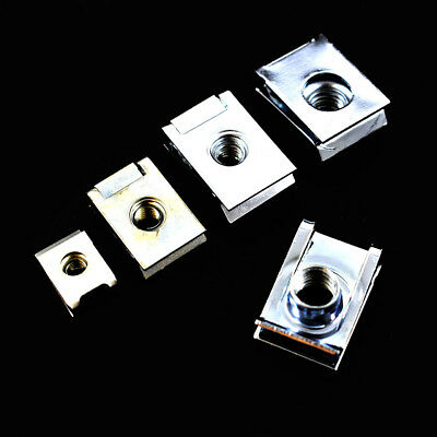 £4.99 • Buy M5 & M6 Spire Clips Chimney Nuts Speed Clips U Nuts Cal Lug Carbon Spring Steel