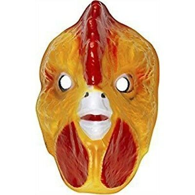 Plastic Mask Child - Cockeral Animals Masks Eyemasks & Disguises For Masquerade • 5.79£
