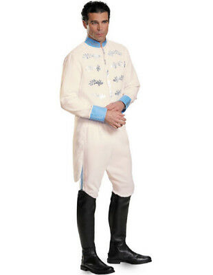 $28.88 • Buy Disney Cinderella Prince Charming Mens Adult Size XL  Deluxe Costume #87047C