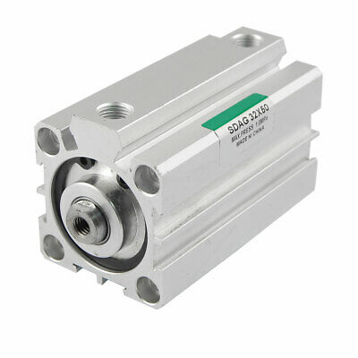 £19.78 • Buy 32mm Bore 50mm Stroke Double Action Pneumatic Actuator Air Cylinder