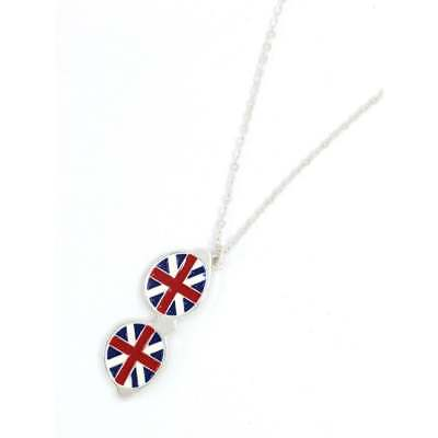 Union Jack Sunglasses Glasses Necklace With Gift Box • 8.99£