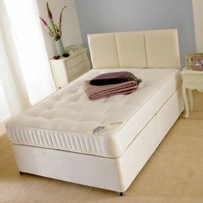 £249.99 • Buy  ORTHOPEDIC DIVAN BED SET WITH MATTRESS HEADBOARD SIZE 3FT 4FT6 Double 5FT King