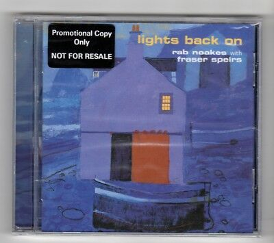 £4.99 • Buy (HX824) Lights Back On, Rab Noakes With Fraser Speirs - 2000 Sealed CD