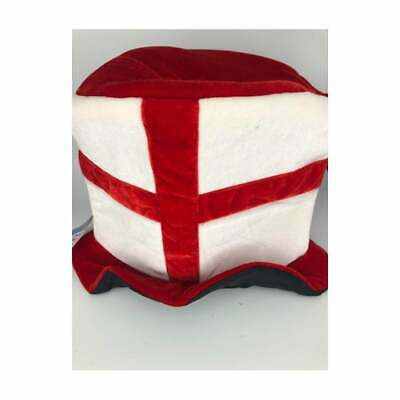 England St George Topper Hat ENGLAND Football - Cricket Etc • 9.99£