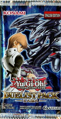 YuGiOh! Duelist Pack Kaiba UNL Edition New And Sealed Booster Pack X1 • 6.49£