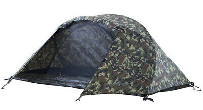 AU119.50 • Buy Black Wolf Stealth Mesh 2 Person Hiking Tent - CAMO