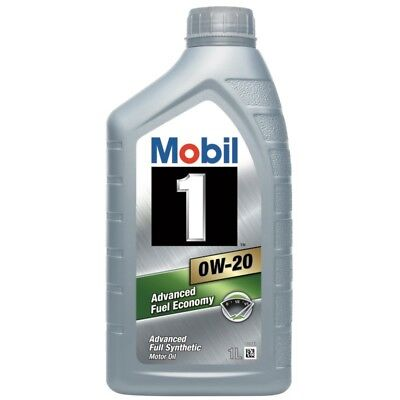 $ CDN27.21 • Buy Mobil 1 0W-20 Fully Synthetic 1 Litre Car Engine Oil Lubricant 152125