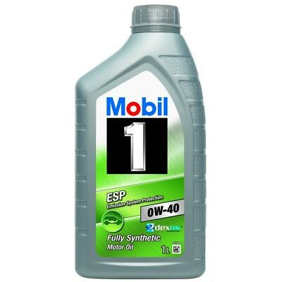 $ CDN34.58 • Buy Mobil 1 ESP 0W-40 Fully Synthetic 1 Litre Car Engine Oil Lubricants 151499
