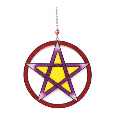 Witches Of Pendle - Pentacle - Light Catcher (WOPLCPENTACLE) • 13.95£