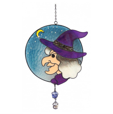 Witches Of Pendle - Witches Face - Light Catcher (WOPLCWITCFACE) • 13.95£