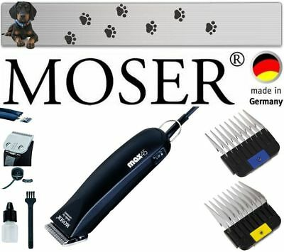 £97.58 • Buy Moser Max 45 Professional Clipper Plus Bonus Stainless Steel Combs 10MM+16MM