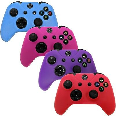 $12.99 • Buy Xbox One Controller Skin Combo Silicone Rubber Protective Grip Cover (4 Pack)