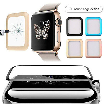 $ CDN4.51 • Buy For Apple Watch Series 1/2/3 38/42mm Tempered Glass  Screen Protector RR CA