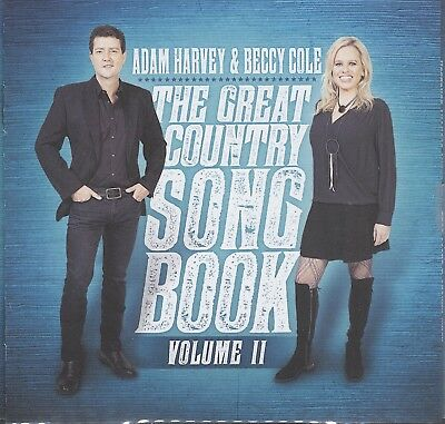 AU14.95 • Buy  ADAM HARVEY ,BECCY COLE - Great Country Songbook CD