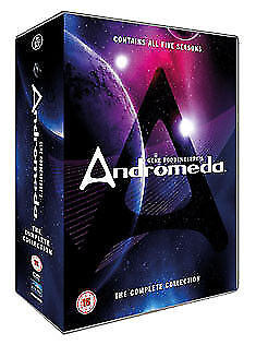 Andromeda Seasons 1 To 5 Complete Collection DVD NEW DVD (REV065.UK.DR) • 48.99£