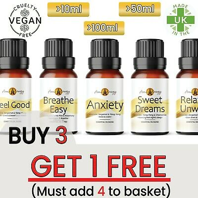 Essential Oils Aromatherapy Pure Organic Natural LIFE Essential Oil Fragrances • 8.99£