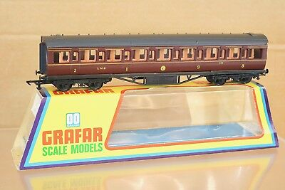 £15 • Buy GRAHAM FARISH 10621 OO LMS MAROON MAINLINE 1st 3rd COMPOSITE COACH 9485 BOXED Np