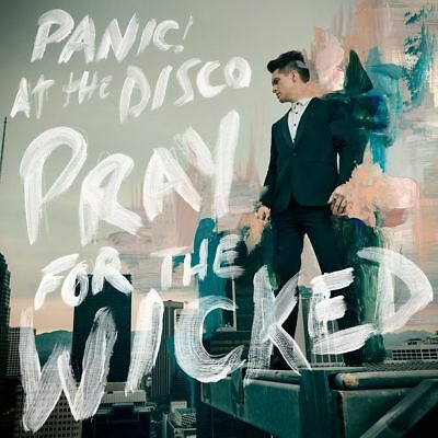 PANIC! AT THE DISCO PRAY FOR THE WICKED CD (Released June 22nd 2018) • 7.89£