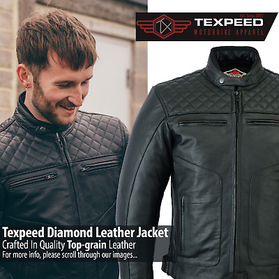 £84.99 • Buy Leather Motorbike Motorcycle Jacket Touring With Genuine CE Biker Armour Thermal