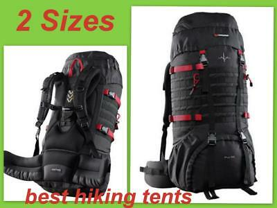 AU103.55 • Buy NEW Caribee Pulse Rucksack Travel Back Pack Hiking Backpack Luggage Bag 65 / 80L