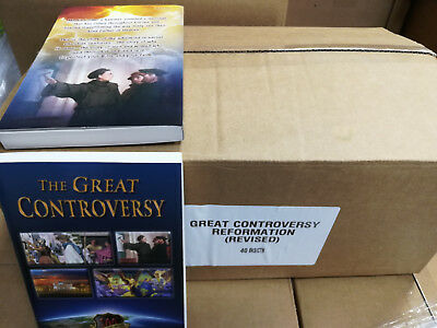 $54.95 • Buy THE GREAT CONTROVERSY Between Christ And Satan By E G White  (Case Of 40)