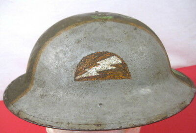 $369.99 • Buy WWI US Army AEF M1917 Helmet W/Liner Hand Painted  78th Infantry Division Emblem