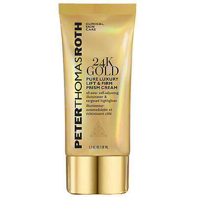 NEW Peter Thomas Roth 24K Gold Pure Luxury Lift & Firm Prism Cream 50ml • 28.55£