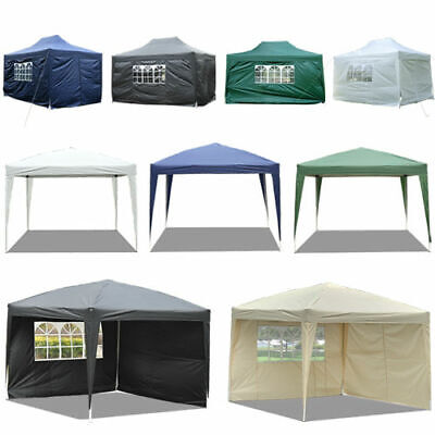 £88.99 • Buy 2x2m 3x3m 4.5x3m 6x3m Garden Pop Up Gazebo Marquee Party Tent Wedding Canopy New