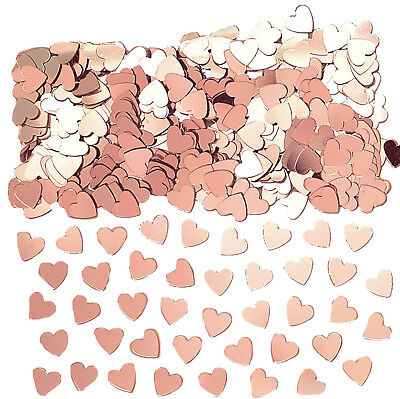 £1.49 • Buy Rose Gold Hearts Table Confetti Wedding Engagement Anniversary Party Decorations