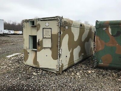 $1795 • Buy Military Communications Shelter, Big. Aluminum. Used. For An M-series Truck