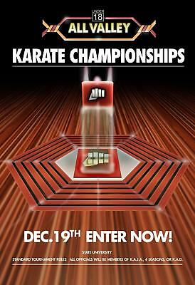 $12.99 • Buy Karate Championship At All Valley  Poster 13x19 Inches
