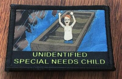 $7.99 • Buy King Of The Hill Special Needs Morale Patch Tactical Military Army USA Funny