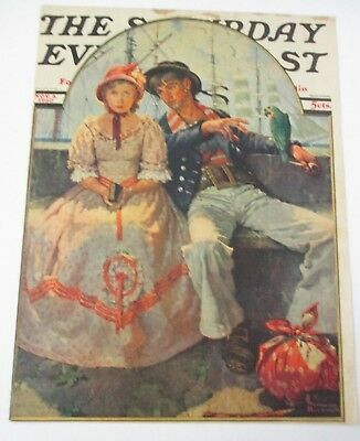 $ CDN28.06 • Buy Norman Rockwell November 8, 1930 Saturday Evening Post COVER ONLY