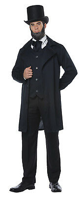 $34.88 • Buy American President Abraham Lincoln / Frederick Douglas Colonial Adult Costume