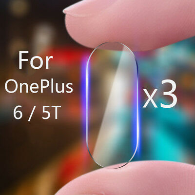 AU4.10 • Buy 3x Premium Rear Camera Lens Tempered Glass Film Protector For OnePlus 6 5T
