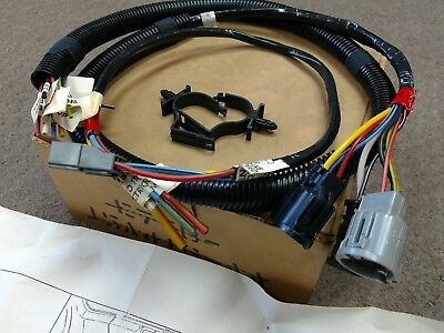e7tb15a416aa nos ford oem trailer lamp & plug wiring harness for 87 bronco  • 99 99$