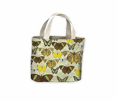 £9.99 • Buy Butterfly Print Tote Shopping Bag For Life