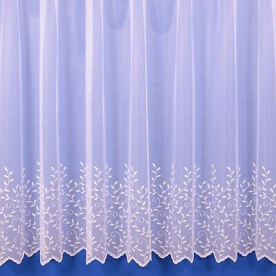 £13.40 • Buy Jessica Lightweight Summer Net Curtain - Various Preset Sizes - FREE DELIVERY