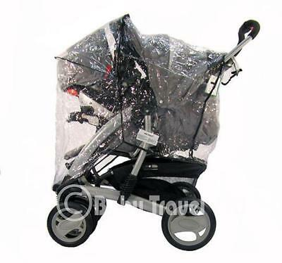 New Sale Travel System Zipped Rain Cover For Graco • 9.95£