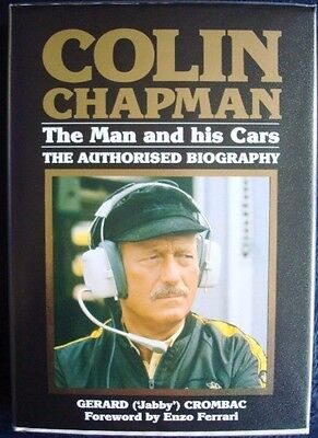 £49.99 • Buy Colin Chapman The Man And His Cars The Authorised Biography Crombac Car Book