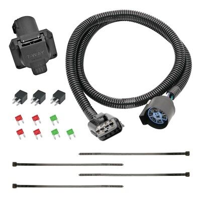 $ CDN79.69 • Buy 7-Way RV Trailer Wiring Harness Kit For 2018 Traverse Limited W/Factory Tow Pkg