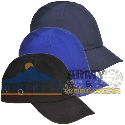 Portwest Bump Cap Hard Hat Safety Baseball Cap Helmet Mens Ladies Workwear  • 7.99£