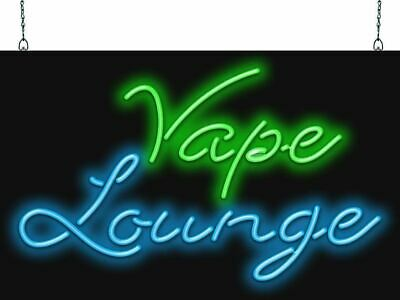 $ CDN446.19 • Buy Vape Lounge Neon Sign | Jantec | 2 Sizes | Vape Smoke Shop Hookah Bar CBD Store